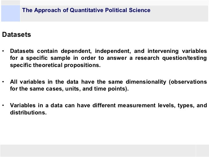 Question for Political Science students?
