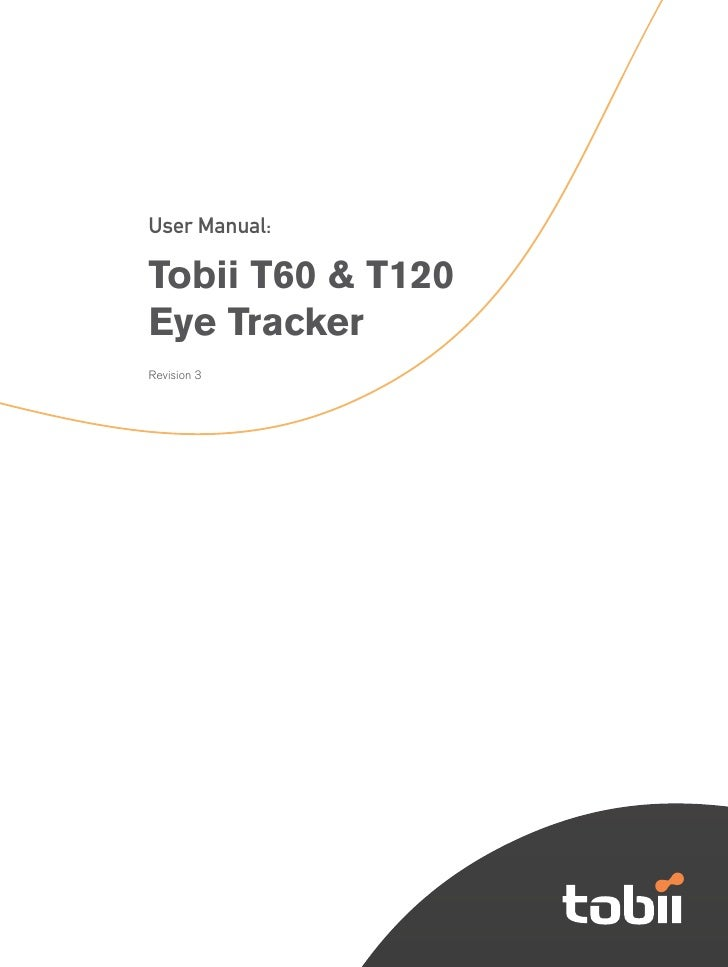 Tobii T60 T120 User Manual