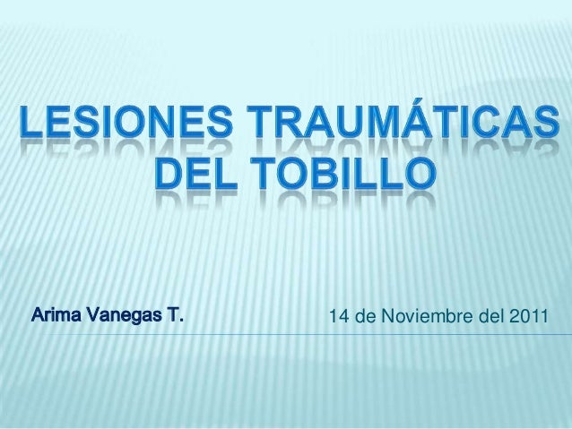 Arima Vanegas T.   14 de Noviembre del 2011