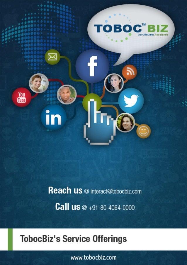 Toboc's Digital Marketing Capabilities