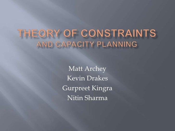 Toc Lecture Presentation