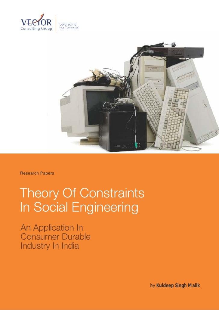 Applying TOC in Social Engineering