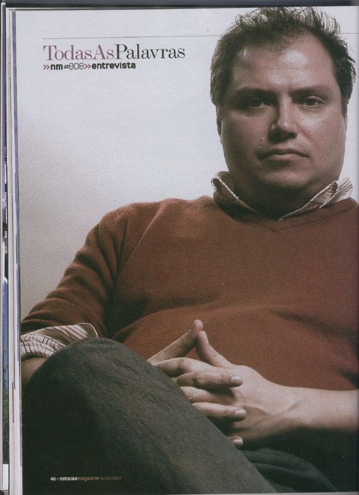 Todas As Palavras Nm808 Entrevista Miguel Verissimo