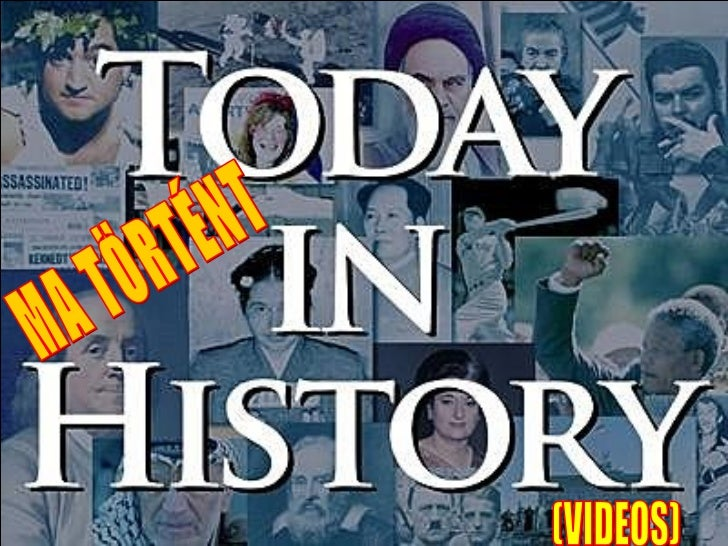 TODAY  IN HISTORY  for July 20nd (VIDEO)  MA TÖRTÉNT