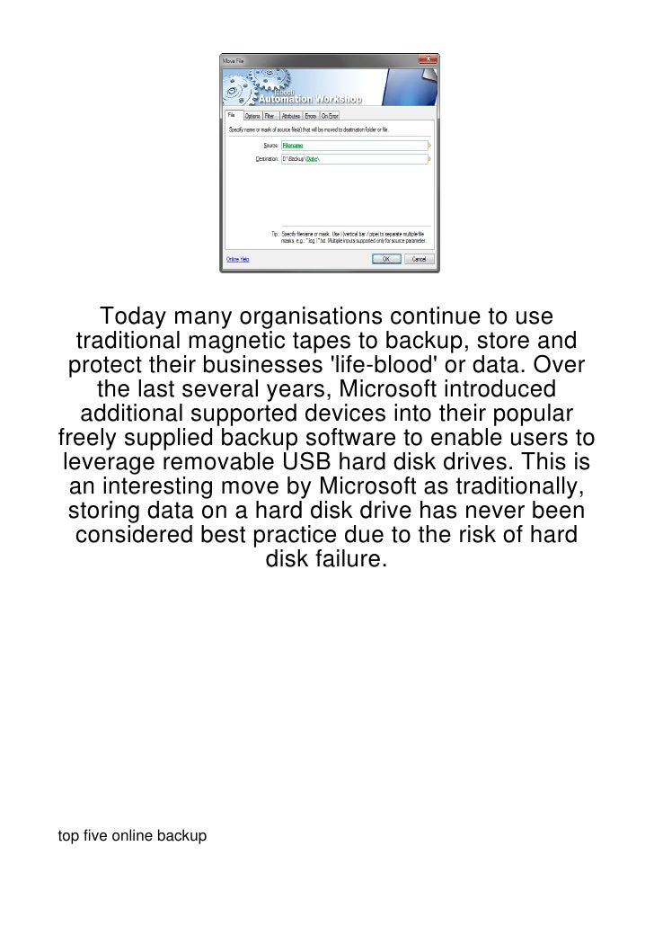 Today many organisations continue to use   traditional magnetic tapes to backup, store and  protect their businesses life-...