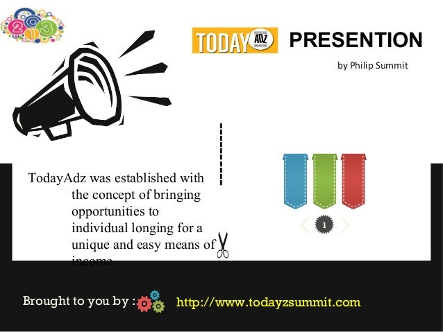 Today adz team summit presentation