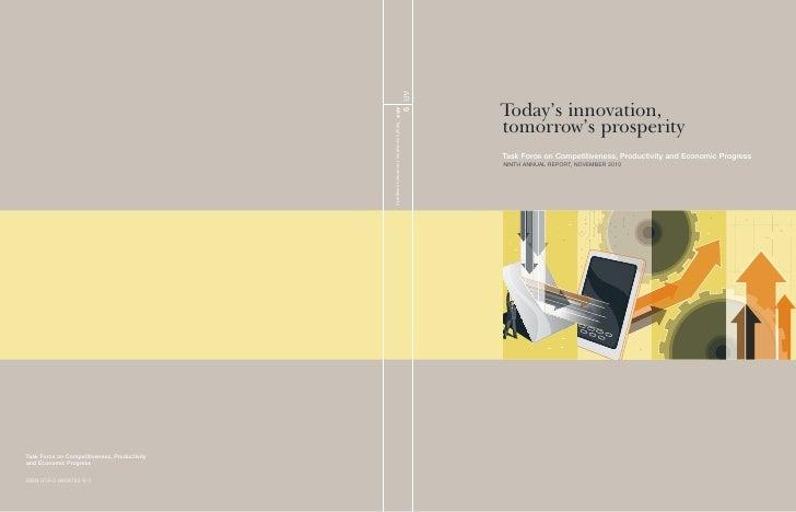 Todays Innovation, Tomorrows Prosperity   November 2010