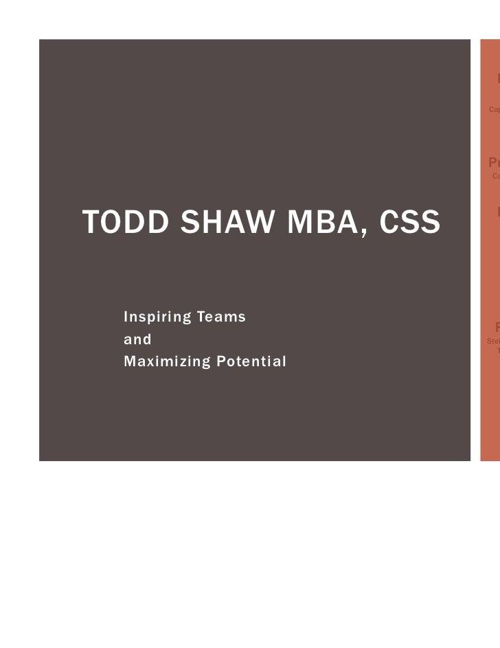 Todd shaw