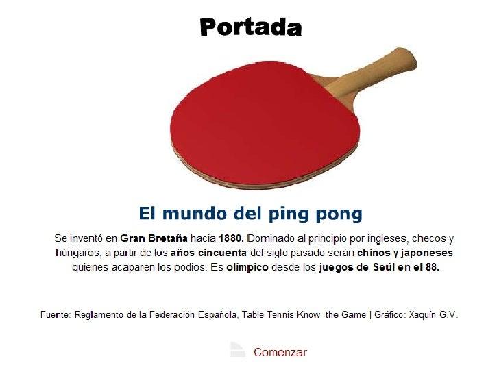todo sobre el ping-pong