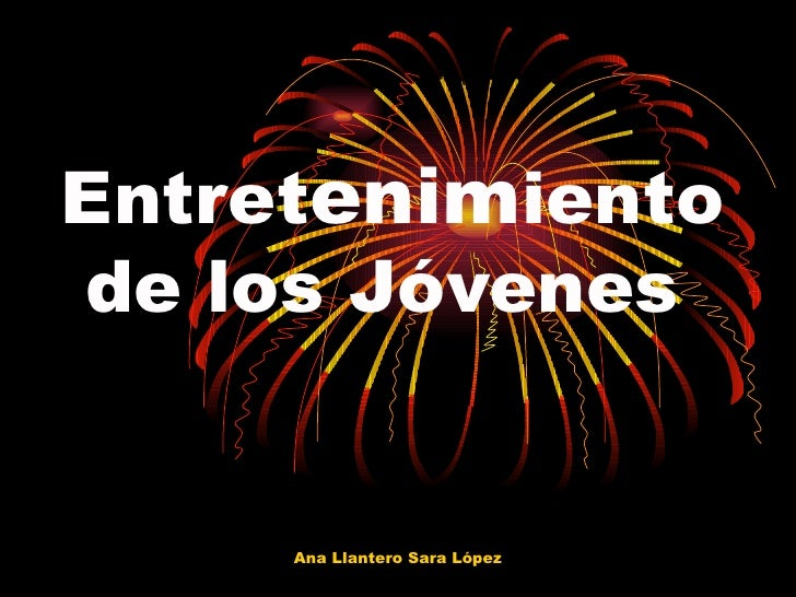 Entret enim iento  de los Jóvenes Ana Llantero Sara López