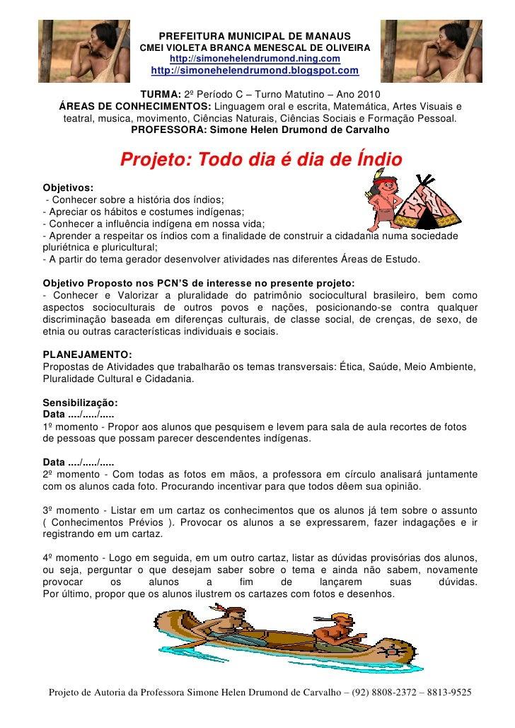 PREFEITURA MUNICIPAL DE MANAUS                      CMEI VIOLETA BRANCA MENESCAL DE OLIVEIRA                            ht...