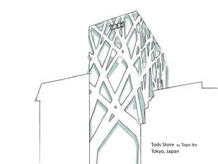 Tods Store  byToyo Ito <br />Tokyo, Japan <br />