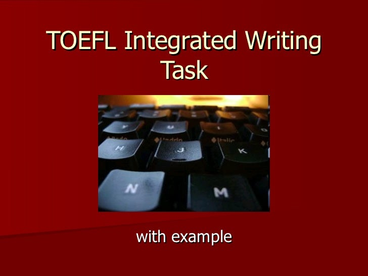 toefl essay about technology