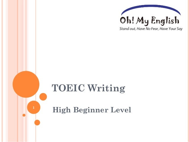 toeic essay Read this essay on toeic come browse our large digital warehouse of free sample essays get the knowledge you need in order to pass your classes and more only at termpaperwarehousecom.