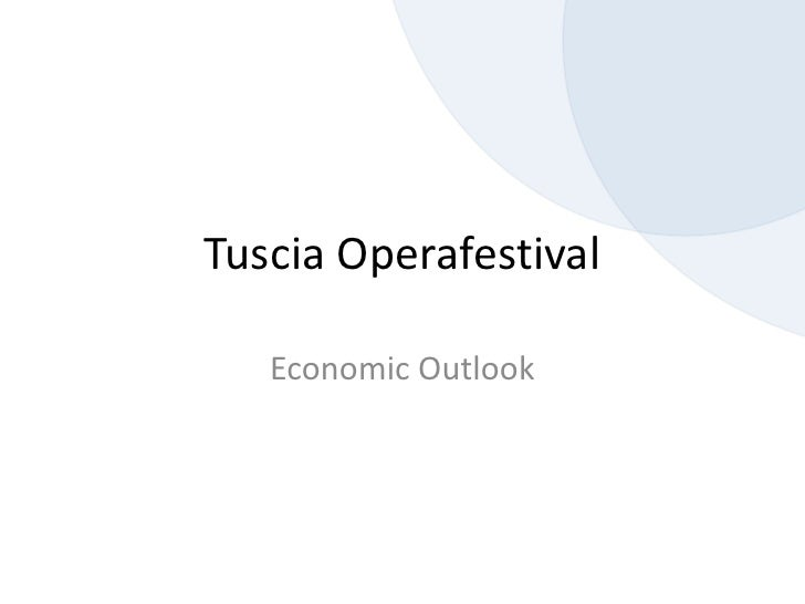 Tof Economic Outlook