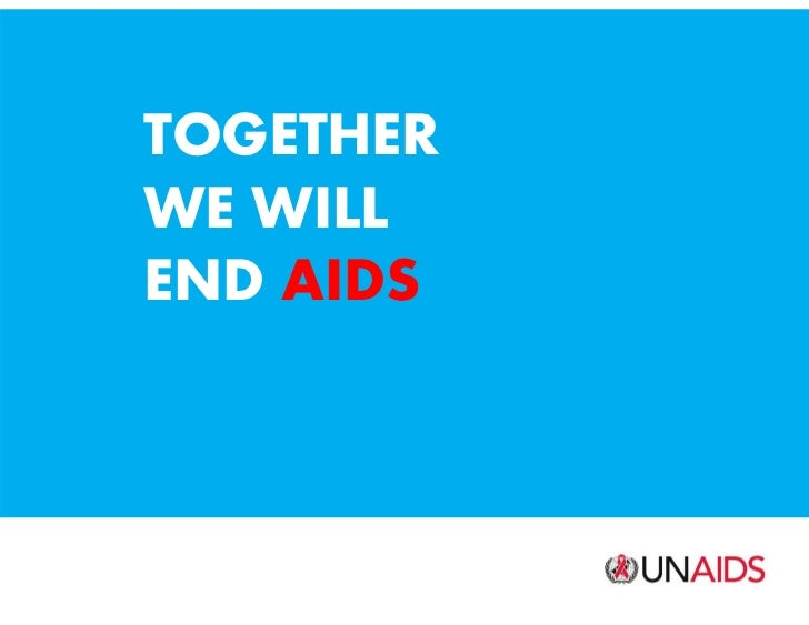 Together we will end AIDS: Report graphics