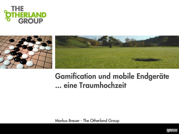 STRATEGIES FOR THE AGE OF THE NET                                    Gamification und mobile Endgeräte                     ...