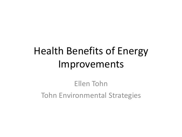 Housing Opportunity 2014 - Improving Health Outcomes through Residential Energy Efficiency, Ellen Tohn