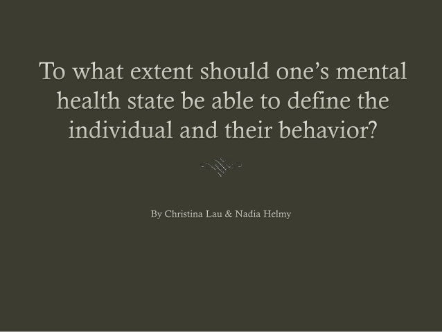 What is mental health? A state of emotional and psychological well-being in  which an individual is able to meet the ordi...