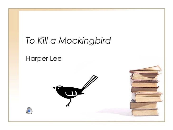 To Kill A Mockingbird Background Notes
