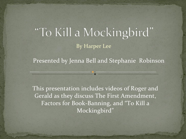 to kill a mockingbid oral presentation To kill a mockingbird chapters 21-23chapter powtoon is an online animated presentation software that allows anyone to create amazing animated presentations.
