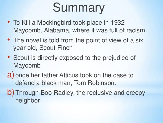 to kill a mockingbird summary book report Need help with chapter 8 in harper lee's to kill a mockingbird check out our revolutionary side-by-side summary and analysis.