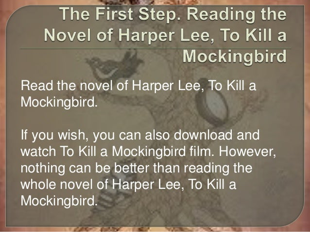essays for to kill a mockingbird You will barely ever be assigned an actual how to kill a mockingbird summary for  school as essays about hunting are a much rarer occasion than those about.