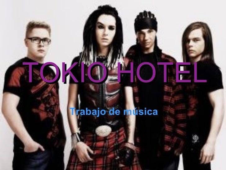 TOKIO HOTEL Trabajo de música