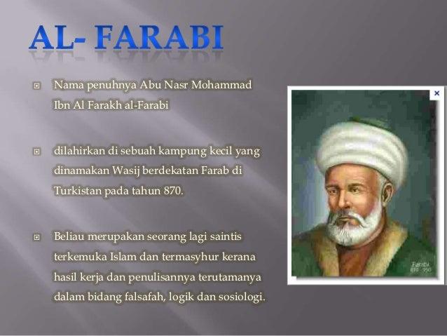 tokoh tokoh tamadun islam dan sumbangannya