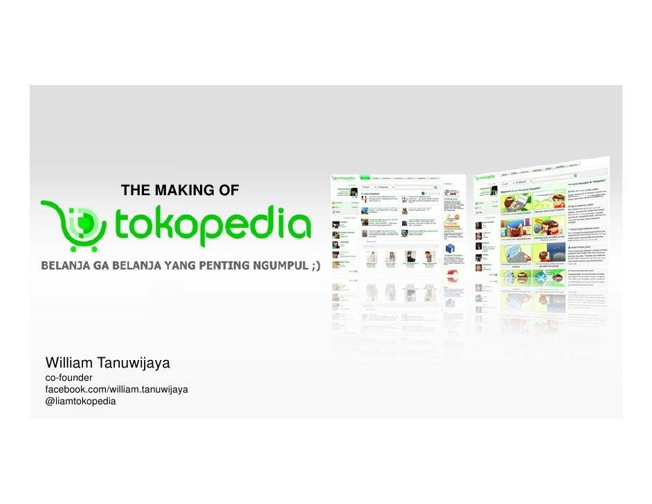 Tokopedia at FreSh (freedom of sharing)