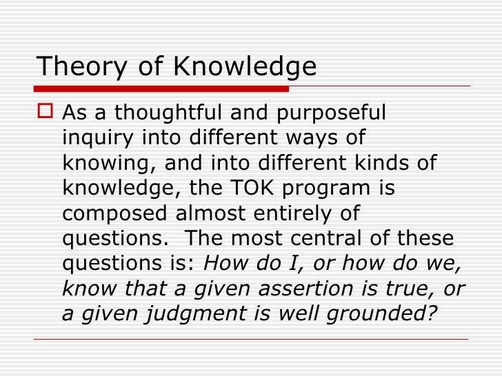Tok Powerpoint Presentation