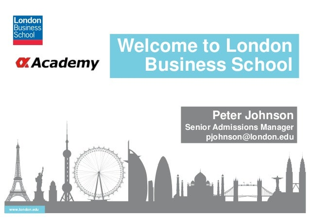 London business school leadership essay