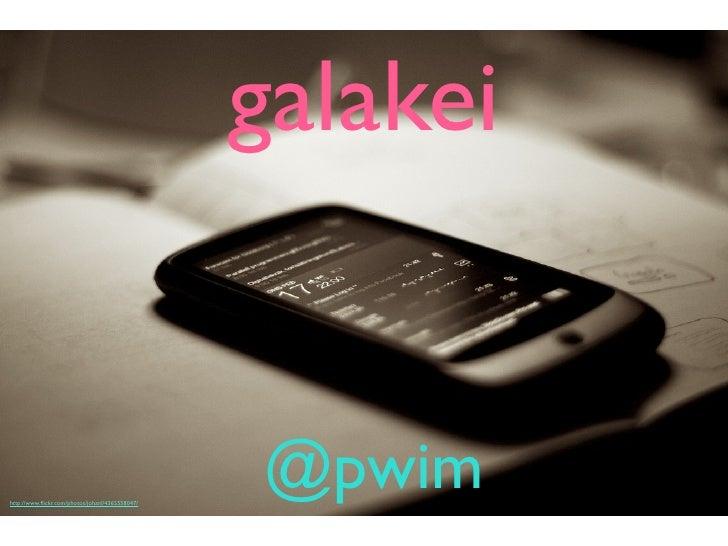 galakei @ TokyuRubyKaigi04