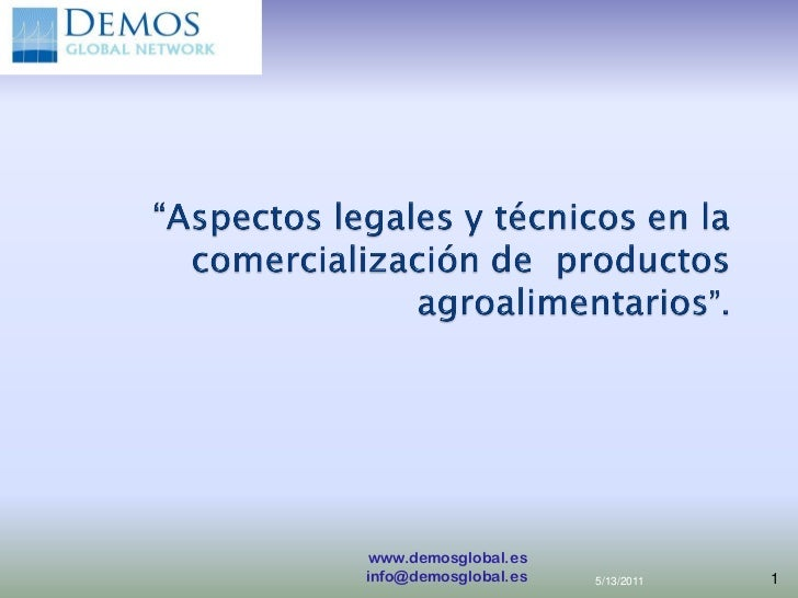 www.demosglobal.esinfo@demosglobal.es   5/13/2011   1