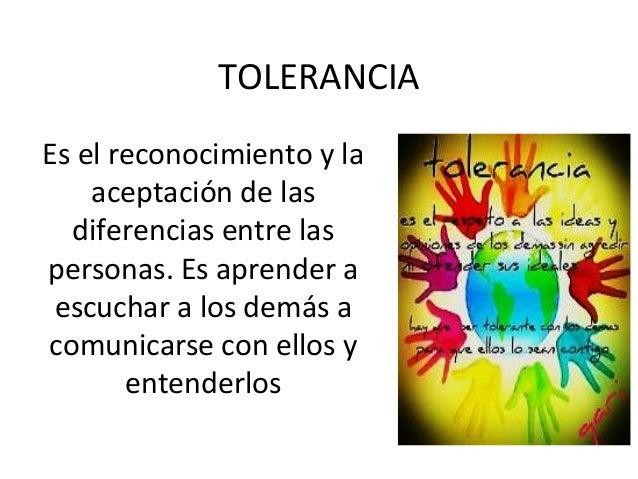 16 Noviembre. Día de la Tolerancia.