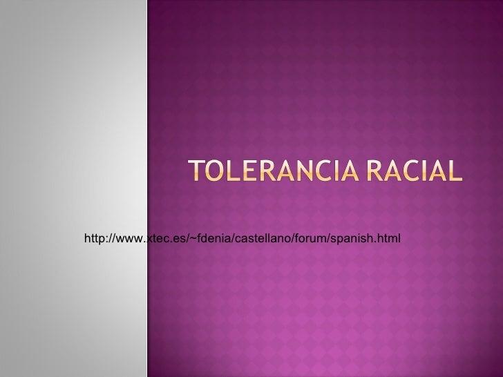 http://www.xtec.es/~fdenia/castellano/forum/spanish.html