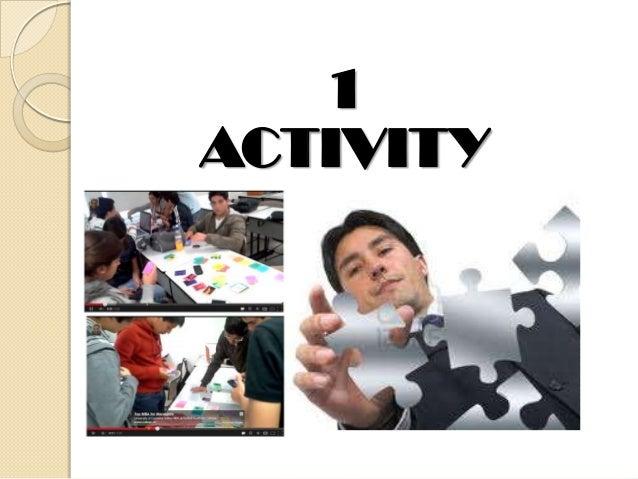 1 ACTIVITY
