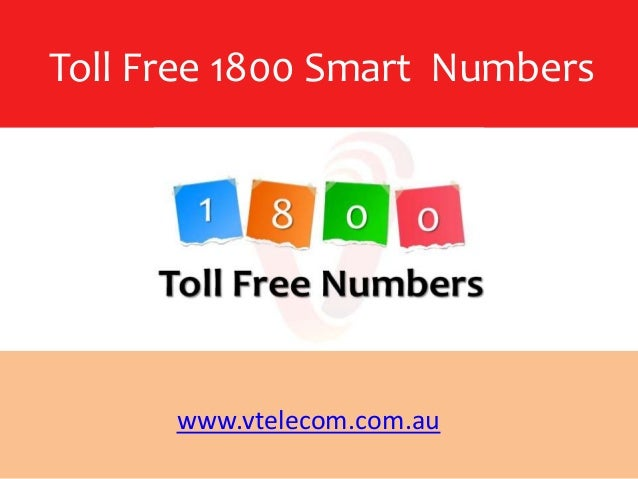 Toll free 1800 numbers in australia