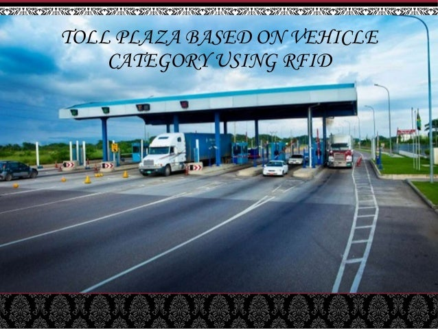 Toll plaza ppt