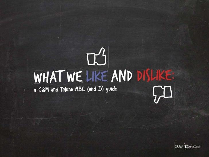 Toluna C&M Social Media Marketing Best Practise Guide