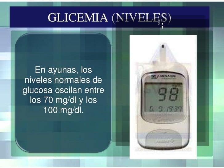 Toma de glicemia