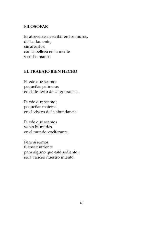 poemas de trabajo