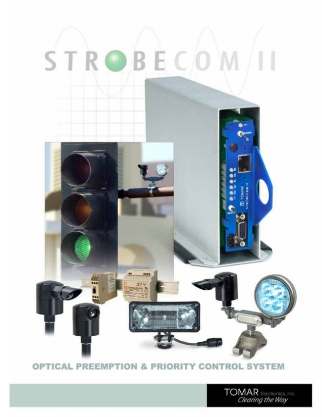 Optical Preemption & Priority Control Systems  Table of Contents STROBECOM II 4140 Coded OSP Card and Card Cage..............