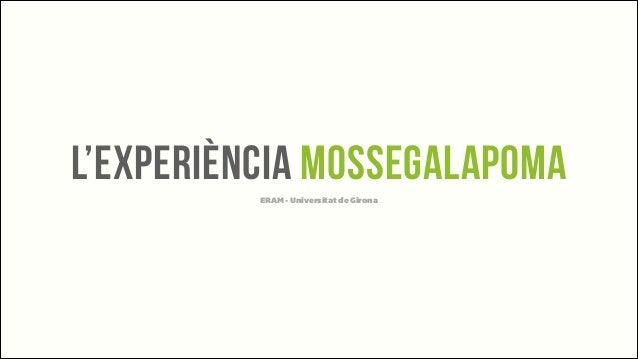 Ponencia Tomas Manzanares sobre Mossegalapoma al Curs Community Manager de la UdG · ERAM