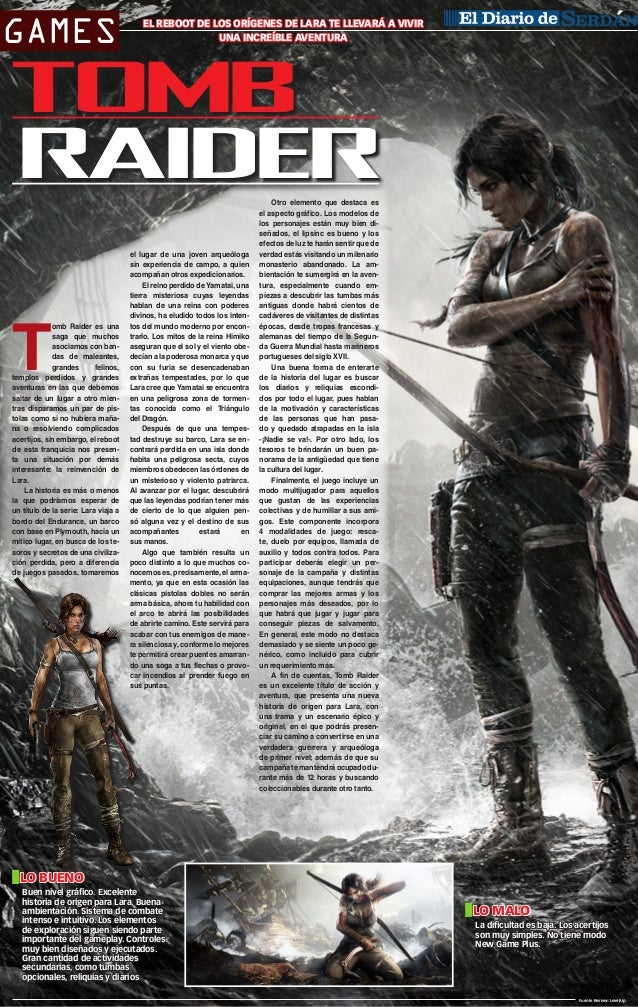 Tomb Raider cover