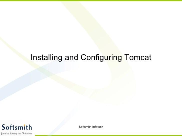 Tomcat Configuration (1)