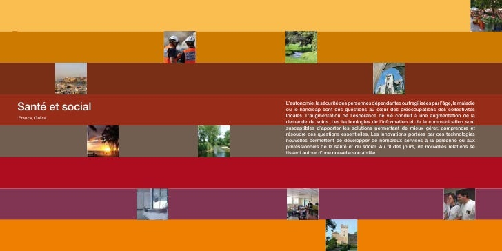 Santé et social                                                                L'autonomie, la sécurité des personnes dépe...