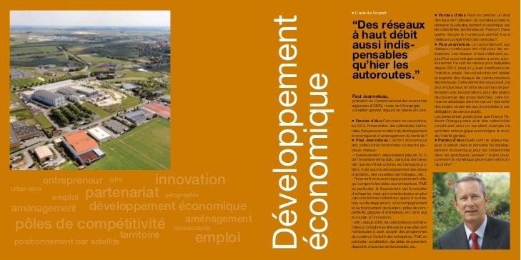 Tome 6 : Développement économique