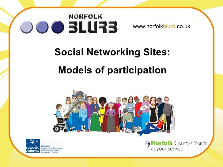 www.norfolk blurb .co.uk Social Networking Sites: Models of participation