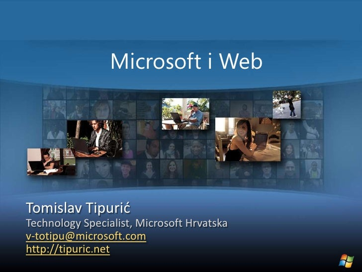 Tomislav Tipuric - Ms Web Platform And Ie8